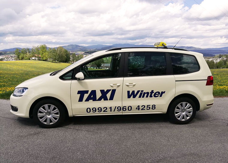 Taxi Service bei Fahrservice Winter